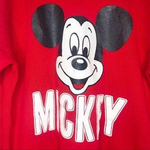 Disney Sweaters - Disney Wear- Vintage Red Mickey Crewneck Sweater